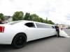 Dodge Charger Stretchlimo in Limo Siegen mieten Limousinenservice weiss Stretchlimousine