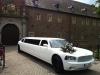 Dodge Charger mieten in NRW Hessen Limousinenverleih weiss