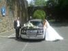 Heiraten in Siegen mit Hochzeitsauto  beim Schloss