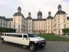 Hummer H2 Stretchlimousine Hochzeit Brautwagen Siegen  Swadba Siegen Oberes Schloss Hochzeit