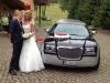 Stretchlimousine Chrysler weiss schwarze  Asslar mieten