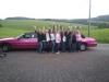 Party Limousine Karaokeanlage  Stretchlimousine pink