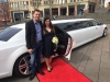Hochzeitsauto Standesamt Siegen Gosenbach Limousinenservice Birkholz Mietservice Stretchlimousine weiss