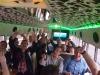 Junggesellenabschied Kartbahn Michael Schuhmacher mit dem Partybus Moonshine Limousinenservice