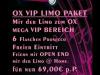OX Vip Disco Paket in Siegen Freudenberg Gummersbach