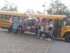 Partybus Fotoshooting mieten Geburtstag feiern Dortmund Gelber Schulbus Oldtimer Bus