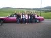 Pinke Limousine mieten JGA Limousinenservice Rosa Lüdenscheid