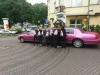 Pinke Stretchlimousine in Köln mieten