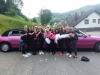 Rosa Limousine Junggesellenabschied Olpe Stretchlimousine