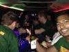 Stretchlimousine Party OX Freudenberg Alpenrausch Gaudimax geschlossen