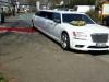 Stretchlimousine Waldbröl mieten Hochzeitsauto Limousinenservice weiss Chrysler 300C