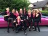 Stretchlimousine pink Jungesellin JGA Junggesellinenabschied Limo Pink Willingen