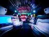 Hummer H2 Stripperin gogo Tanzstange Partybus 12 Personen Duisburg Pink