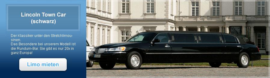 Lincoln Town Car schwarz