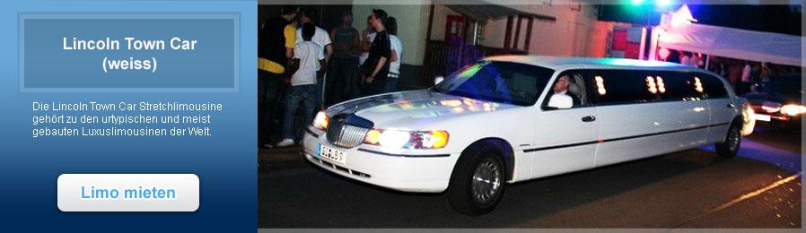 Lincoln Town Car weiss