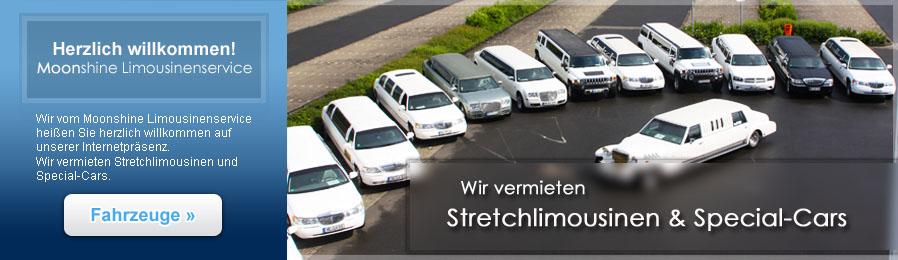 Moonshine Limousinenservice - Clever Stretchlimousinen mieten!