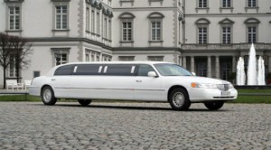 Lincoln weisse Stretchlimo