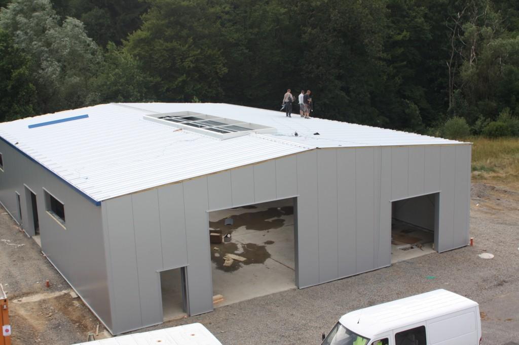 Unsere neue Halle