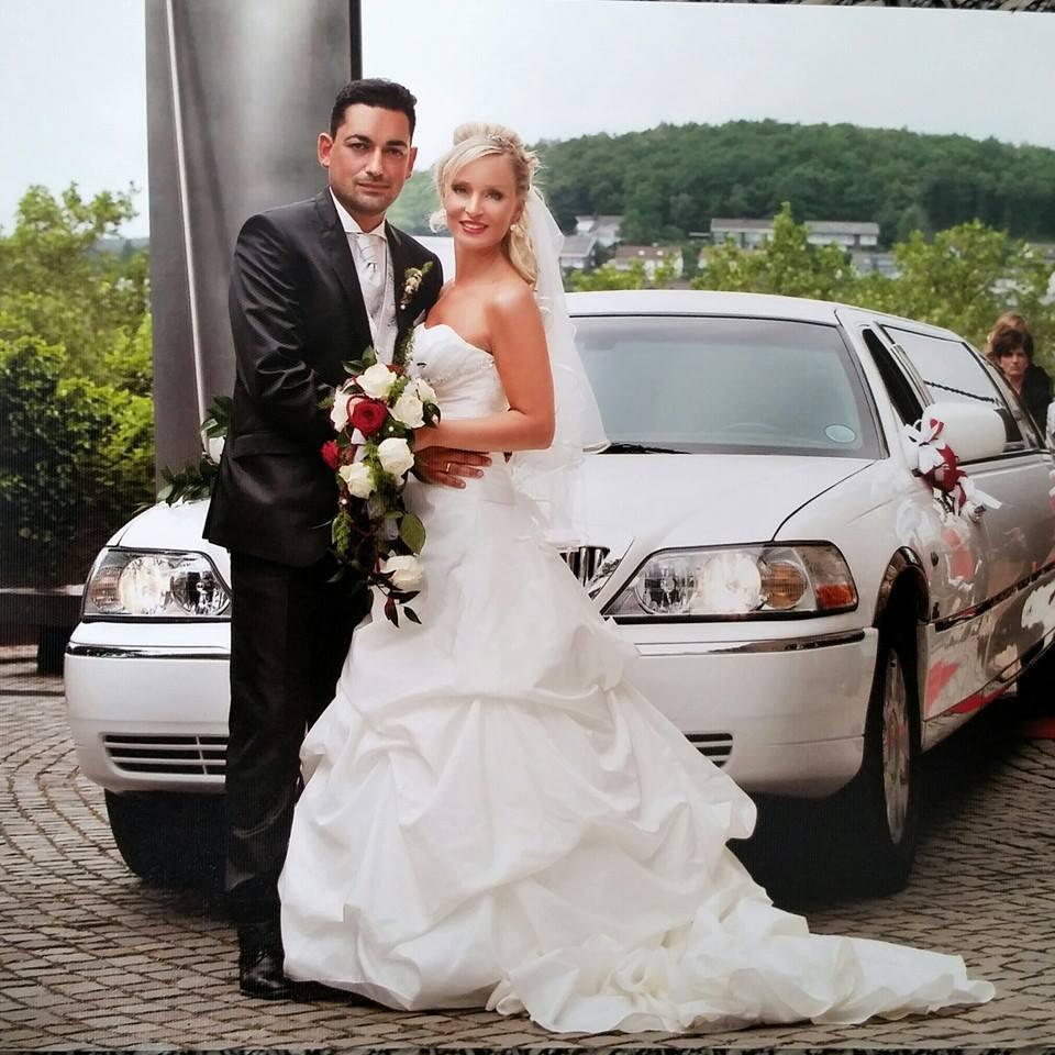 Hochzeitsauto Lincoln Weiß Stretchlimousine Gummersbach Olpe verleih