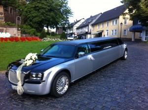 Wunderschöne Hochzeitslimousine unser Chrysler 300C