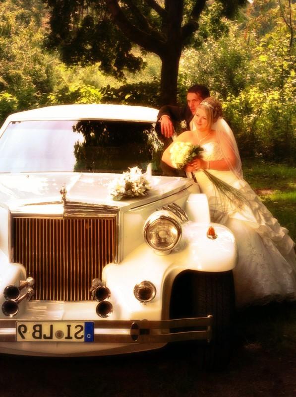 Excalibur Hochzeitsauto