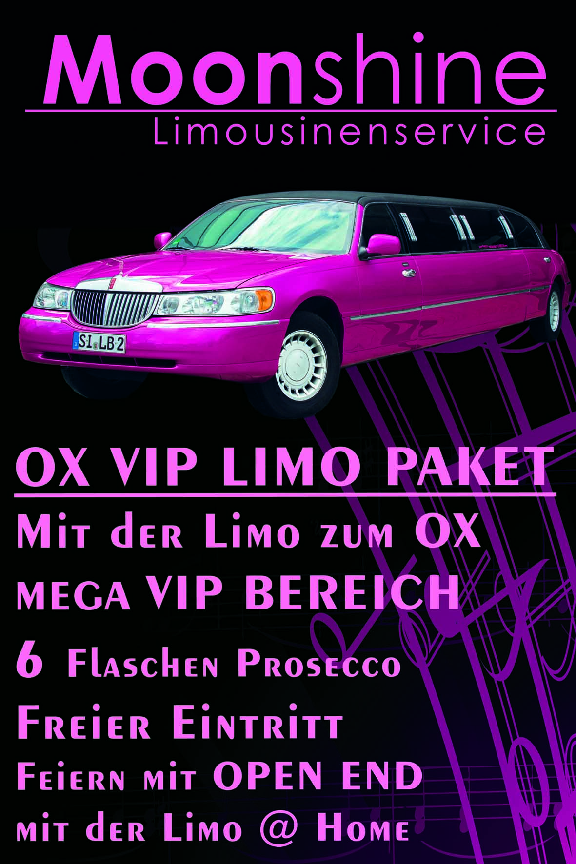 vip paket in siegen gewinnspiel mit der stretchlimousine zum ox mit vip paket. Black Bedroom Furniture Sets. Home Design Ideas