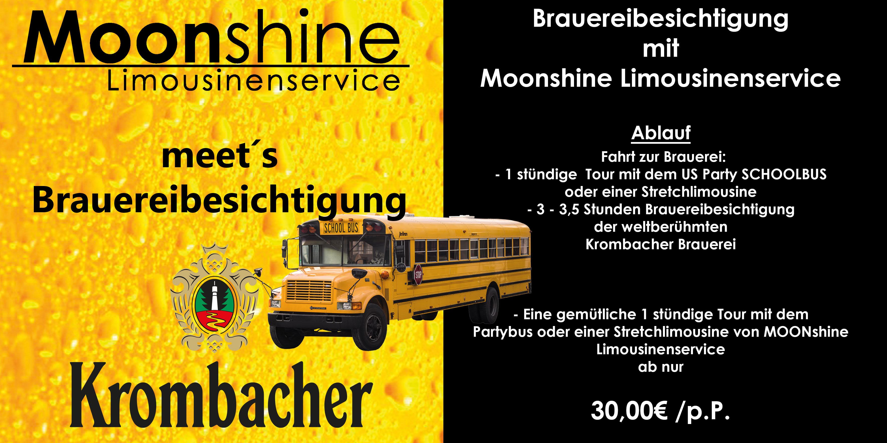 Brauereibesichtigung Partybus Krombacher Bier Pils Siegen Olpe Sauerland