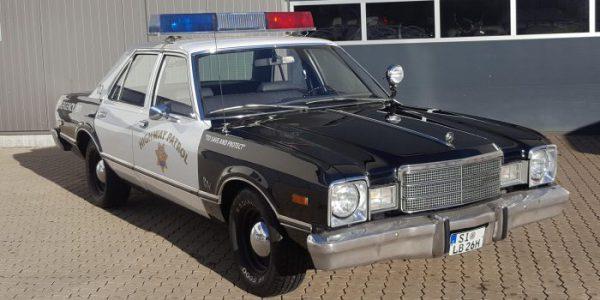 Polizeiauto mieten Junggesellenabschied Hochzeitsauto